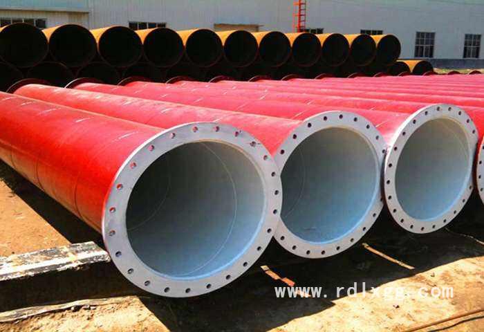 两端焊接法兰螺旋钢管