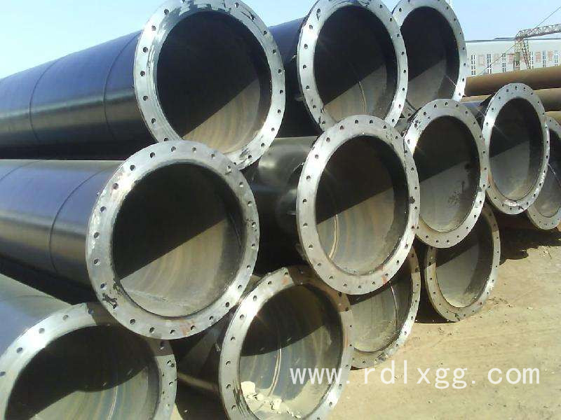 焊接法兰螺旋焊管
