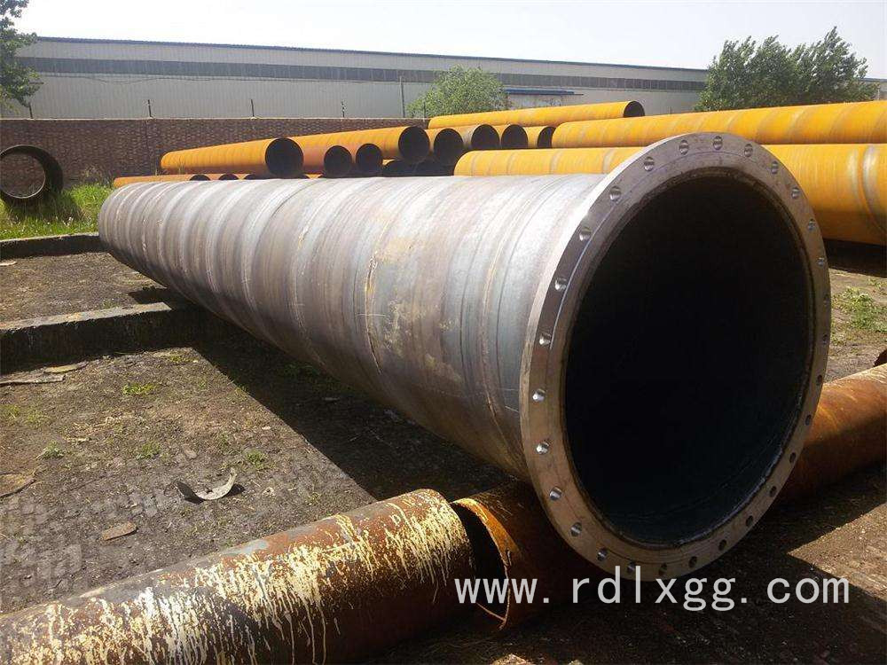 走水焊接法兰螺旋钢管
