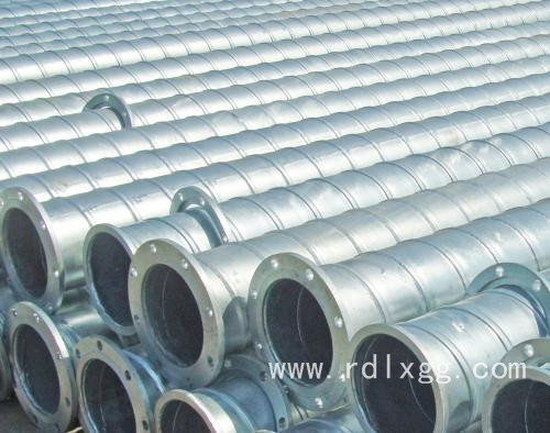 焊接法兰镀锌管